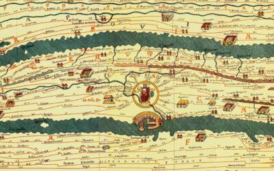 Il Google Maps degli antichi romani: la Tabula peutingeriana